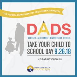 Dads, Take Your Child To School Day